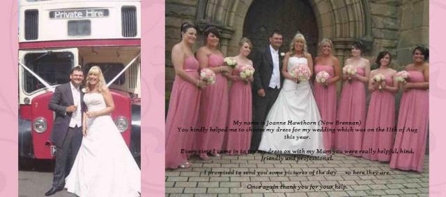 Mia Sposa Bridesmaid Testimonial