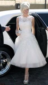 Mia Sposa Bridal Testimonial short dress