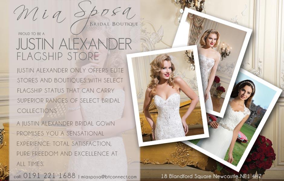 7447eb51fe8a Justin-Alexander-Flagship-Social. Wedding designer known for vintage wedding  dresses ...