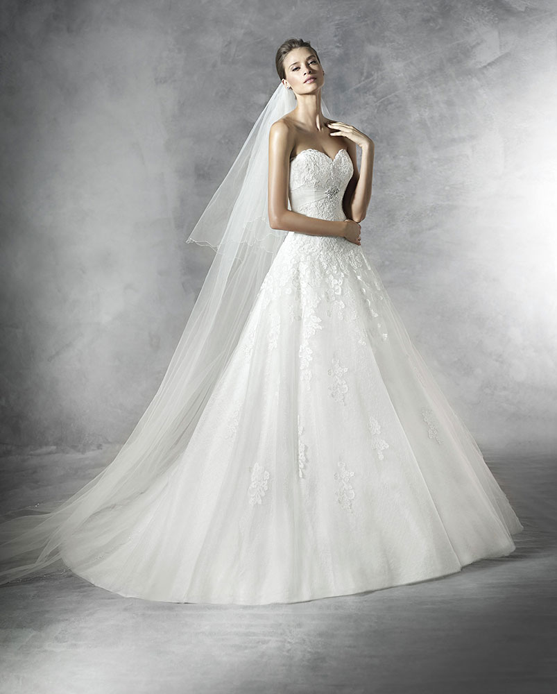 New pronovias dresses added to website mia sposa bridal for Website for wedding dresses