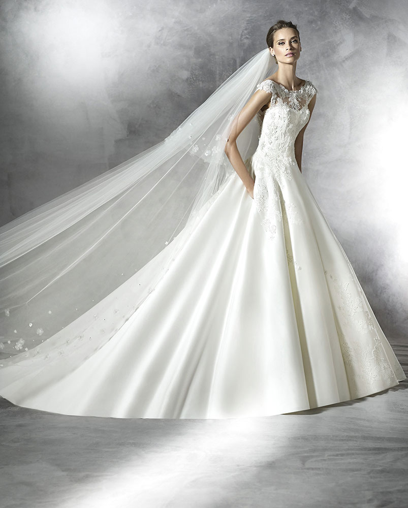 New pronovias dresses added to website mia sposa bridal for Pronovias wedding dresses uk