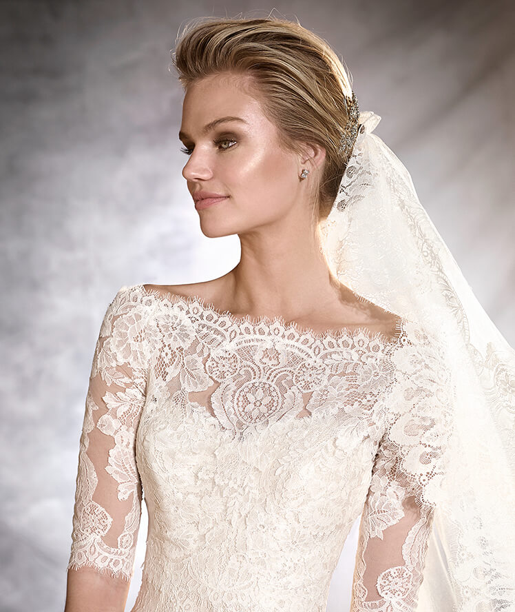 Lace Wedding Dresses Newcastle : Pronovias orlan mia sposa bridal boutique  t