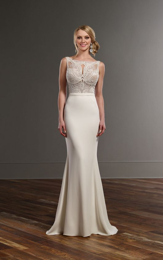 Martina liana 753 mia sposa bridal boutique for How much are martina liana wedding dresses
