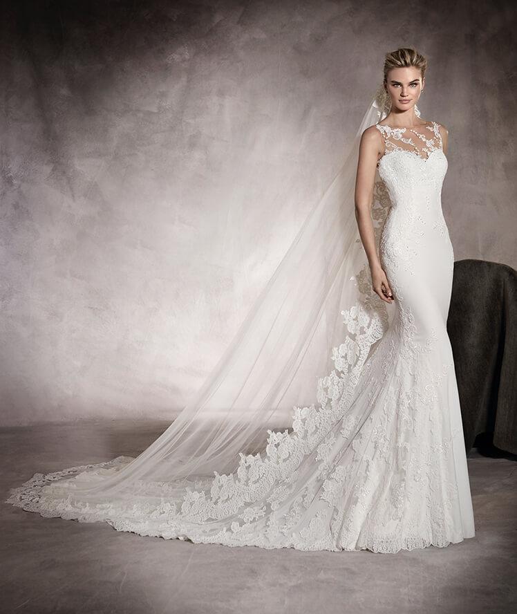 Lace Wedding Dresses Newcastle : Pronovias prunelle mia sposa bridal boutique  t