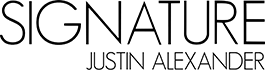 justin alexander signature logo tile 6