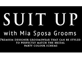 Mia Sposa Menswear Hire