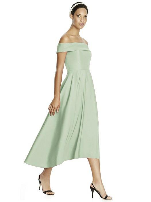 Studio design bridesmaids mia sposa bridal boutique for Midi length wedding dress