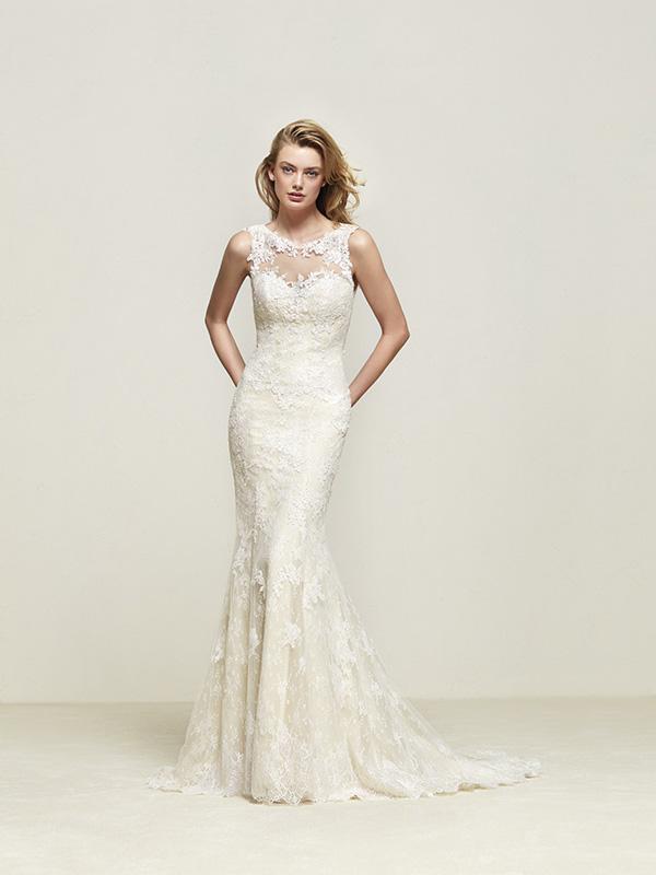 510cae25a569 Pronovias Driades Size 12 - Mia Sposa Bridal Boutique