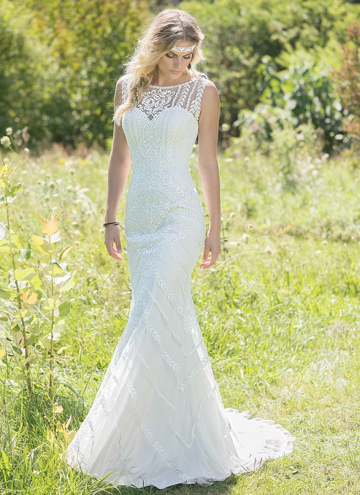 Boho Chic And Vintage Inspired Lillian West Mia Sposa Bridal