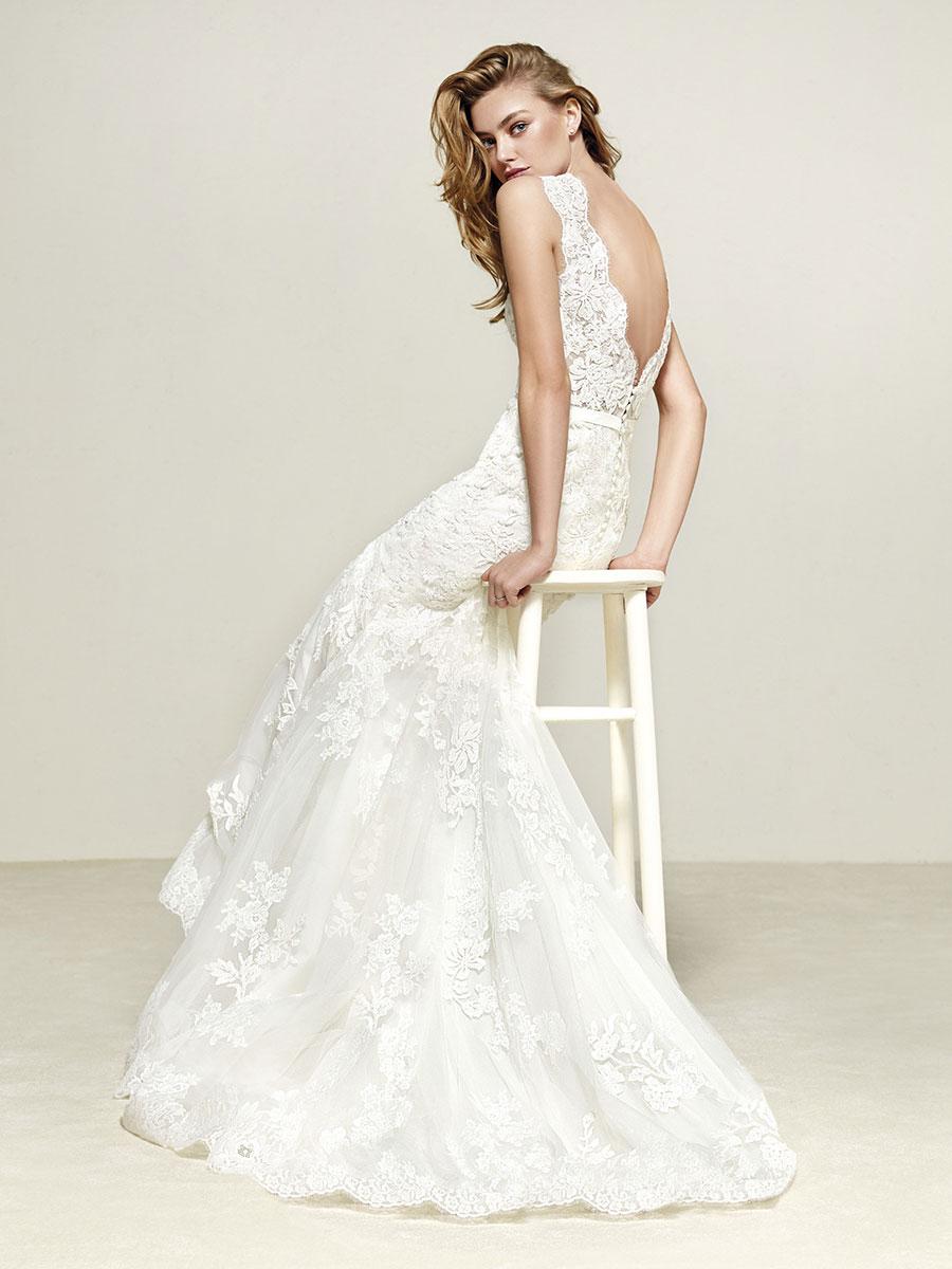 Pronovias Dril Wedding Dress - Mia Sposa Bridal Boutique Newcastle