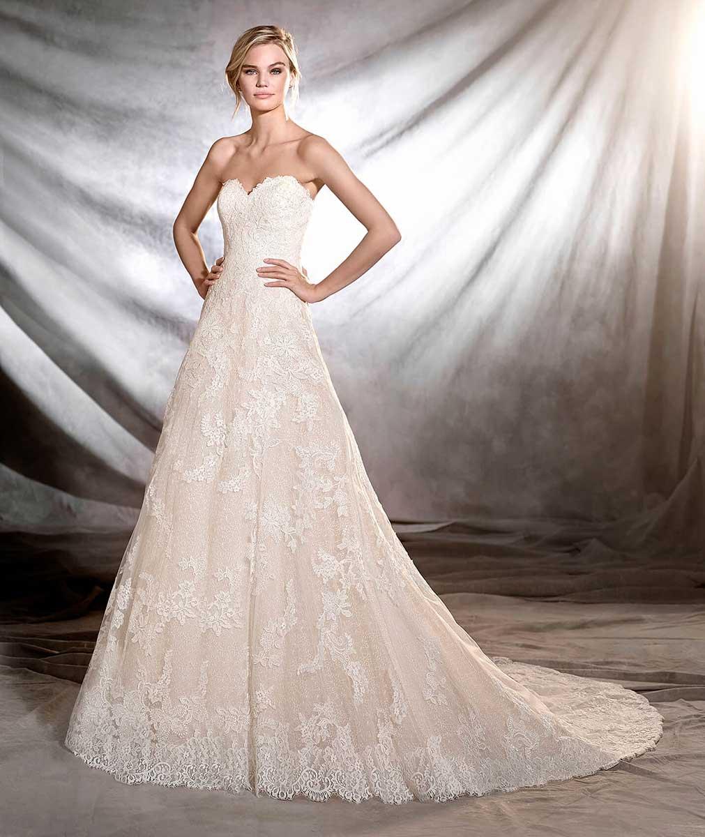 pronovias arlet wedding dress   mia sposa bridal boutique