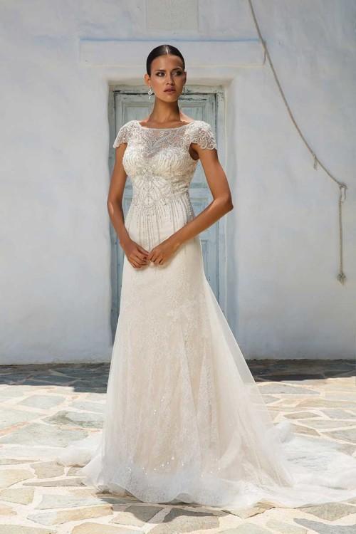 Justin Alexander 8958 bridal gown