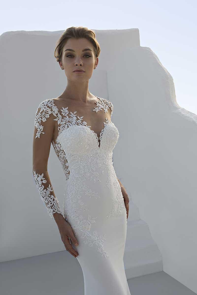 Mark Lesley 7227 Bridal Gown Mia Sposa Bridal Boutique