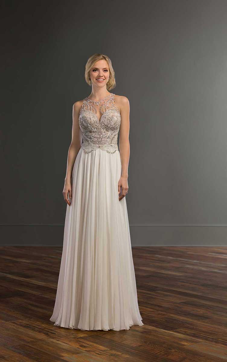 Martina Liana 983 Bridal Gown - Mia Sposa Bridal Boutique Newcastle