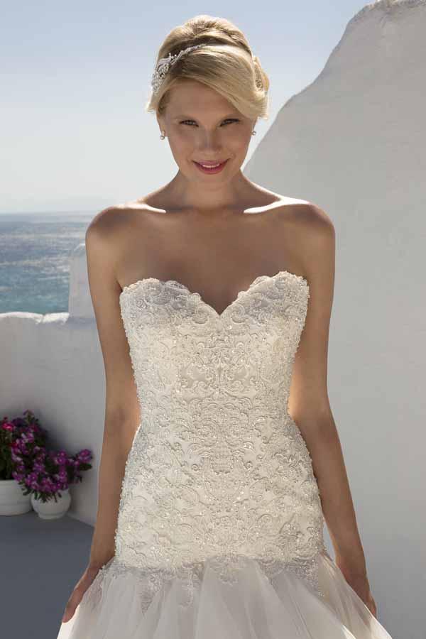 85b5cb455476 Mark Lesley Bridal Gown 7262 Size 16 - Mia Sposa Bridal Boutique