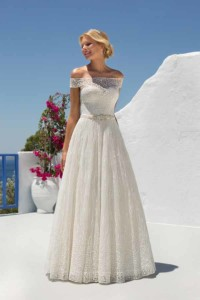 Mark Lesley Bridal Gown 7274 (No Train)