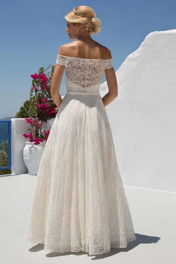 Mark lesley bridal gown 7274 no train mia sposa bridal Wedding dress newcastle