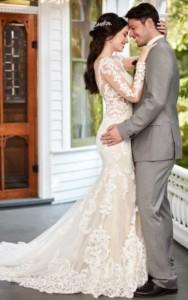 Martina Liana 935 Bridal Gown