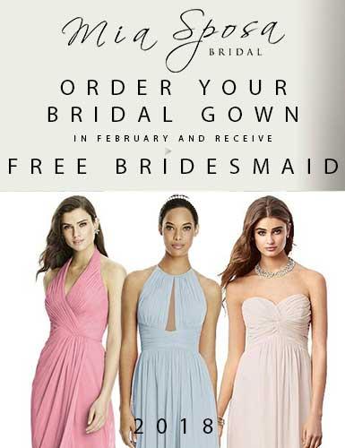 bridesmaid promo feb 18