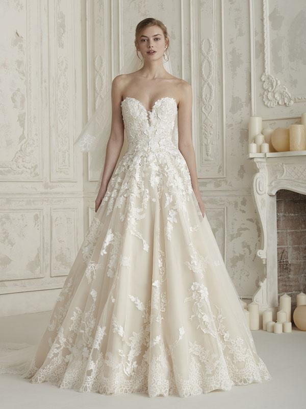 75ecd00c216b Pronovias Elcira Bridal Dress - Mia Sposa Bridal Boutique Newcastle