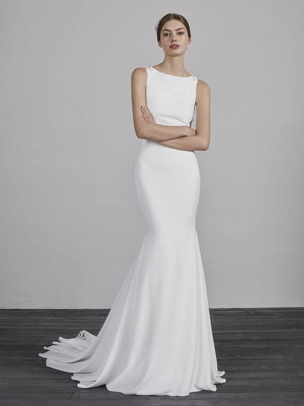 0e131f92ab95 Pronovias Enol Bridal Dress - Mia Sposa Bridal Boutique - Designer ...