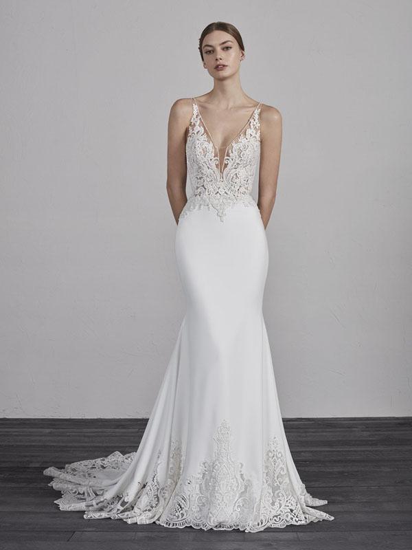 a2cfcb43a69a Pronovias Erandi Bridal Dress - Mia Sposa Bridal Boutique - Designer ...