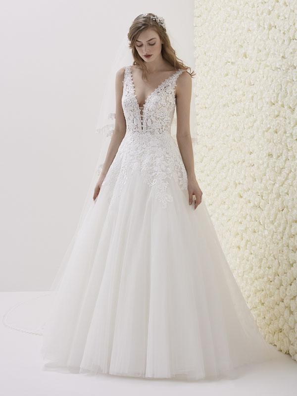 a0bee405e8c1 Pronovias Estibaliz Bridal Dress - Mia Sposa Bridal Boutique ...