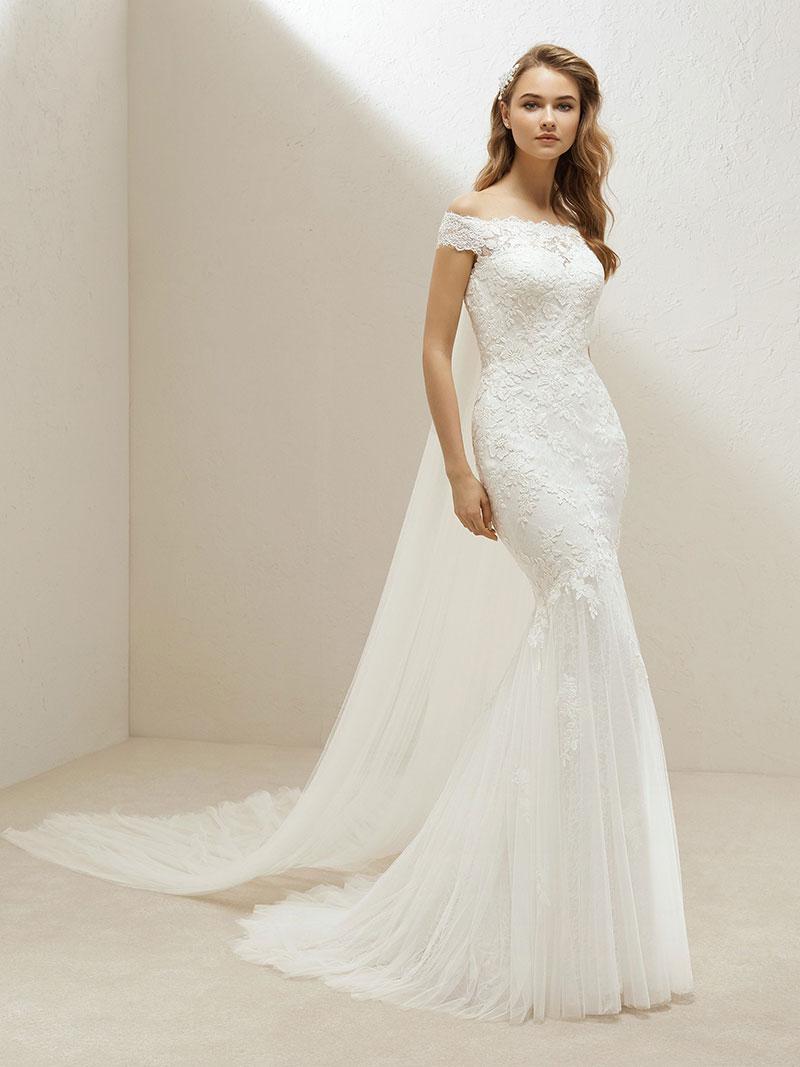 modèle unique réel classé attrayant et durable Pronovias Victoria - Mia Sposa Bridal Boutique