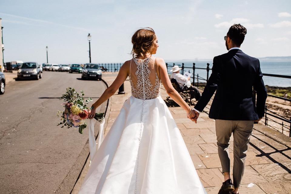 Our Bride Nicola Farrow