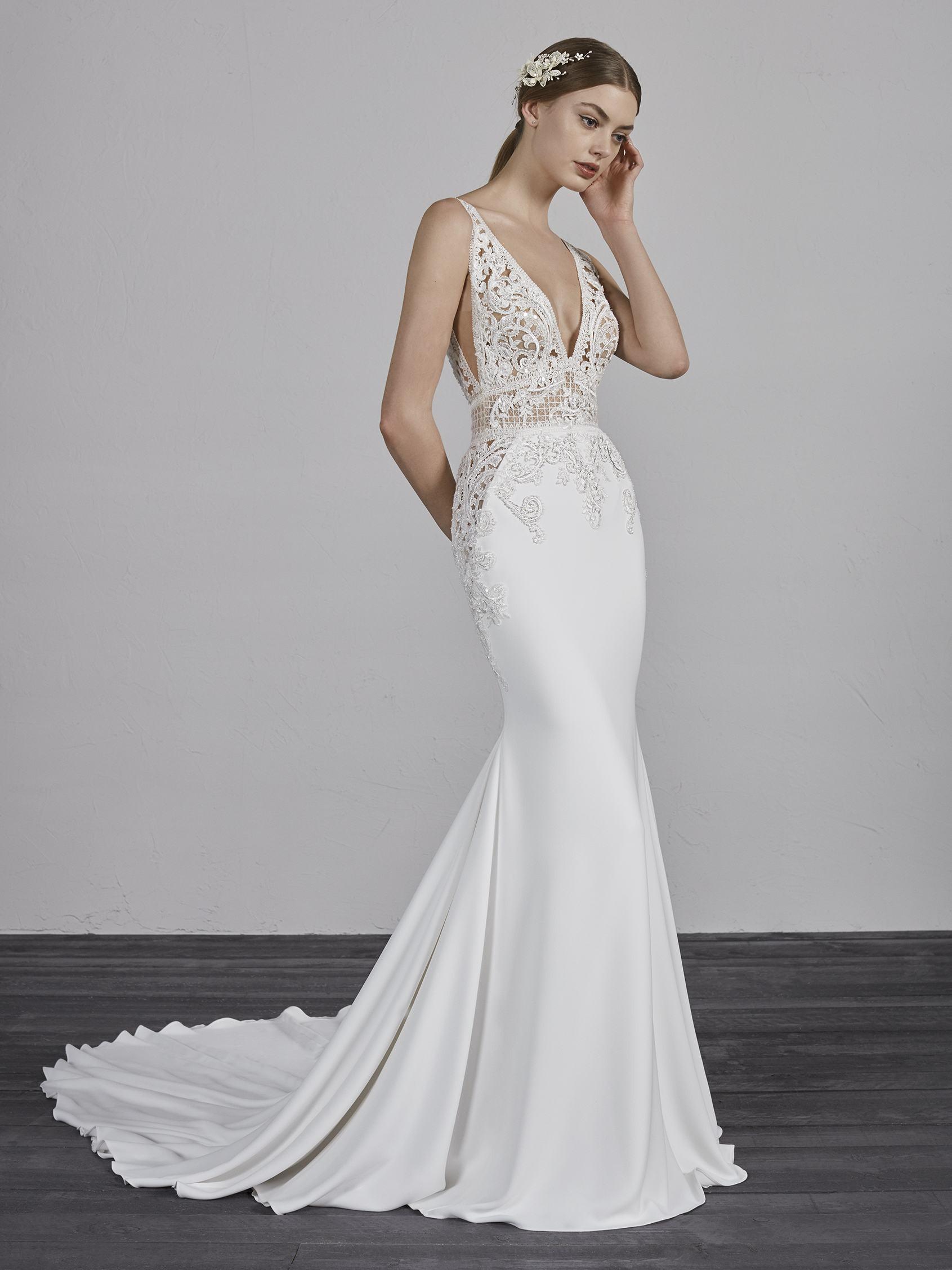 48483a896e6 Pronovias Emily Bridal Dress - Mia Sposa Bridal Boutique Newcastle