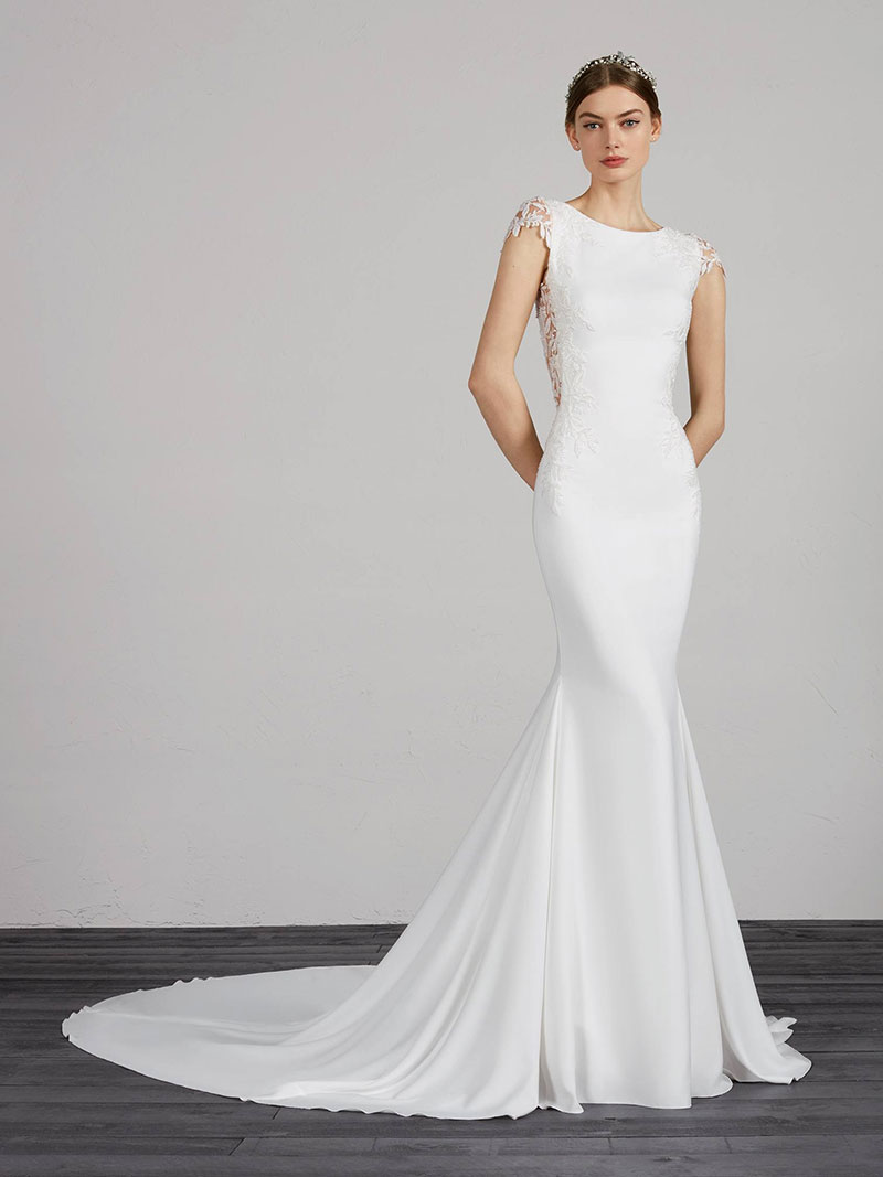 04012f004e8 Pronovias Melva - Award Winning Mia Sposa Bridal Boutique Newcastle