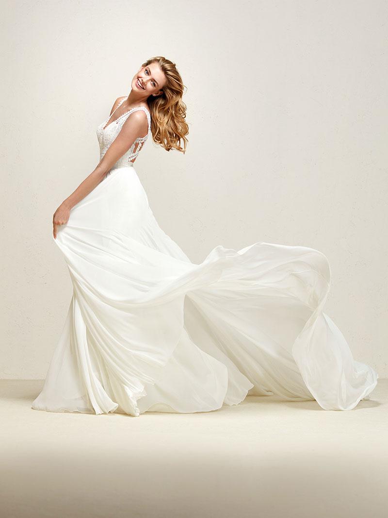 9c8aafec3d28 Pronovias Dramia Designer Bridal Dress - Mia Sposa Bridal Boutique