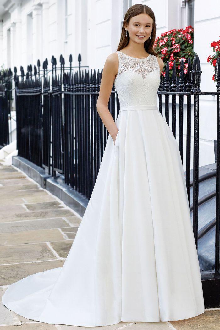 Sweetheart Bridal Gown Style 11070 Mia Sposa Bridal Boutique